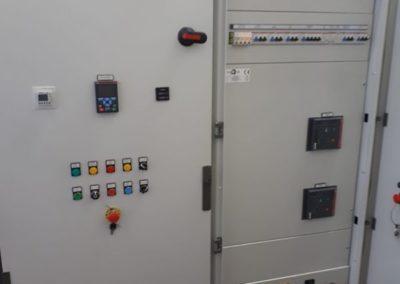 TeaTek_Impianto Sollevamento Brusciano Quadro Elettrico
