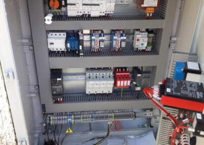 TeaTek_Monte Scorano_Dettaglio Quadro Elettrico
