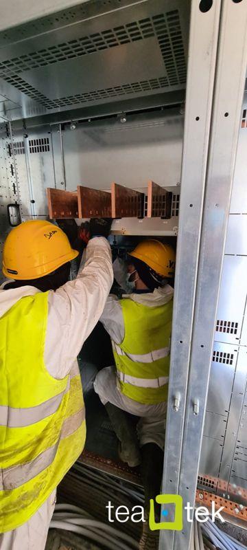 TeaTek_Campo Pozzi Monte Maggiore_Electric panel installation