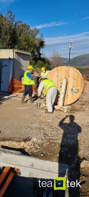 TeaTek_Campo Pozzi Monte Maggiore_External Works