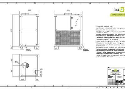 TeaTek_Impianto Raffreddamento Apparati M346_Disegno