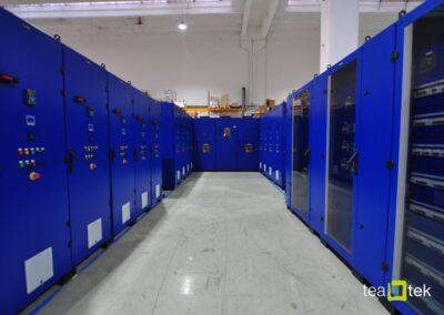 TeaTek_URBE WATER LIFTING CENTER_Electric Panels