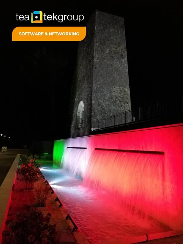 TeaTek_Peschiera Aqueduct_ Mausoleum lighting
