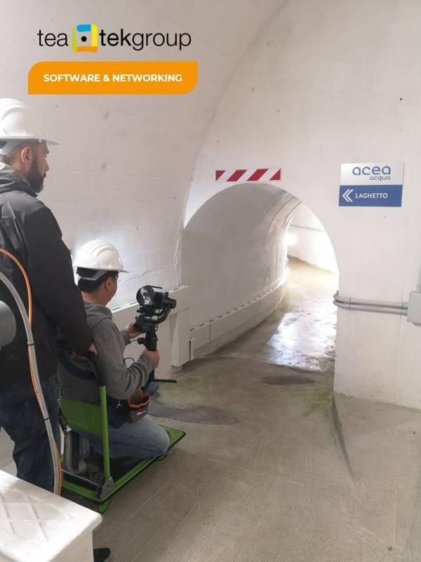 TeaTek_Peschiera Aqueduct_Virtual Reality