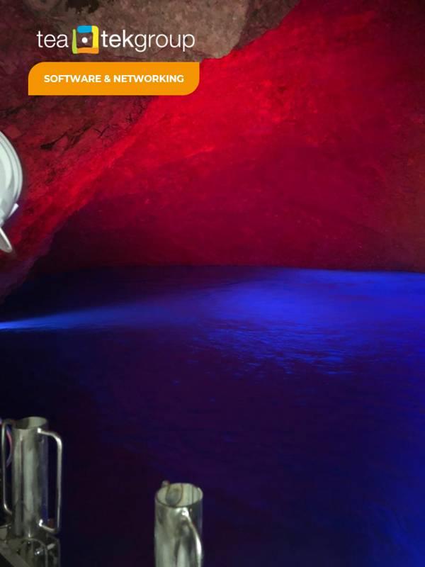 TeaTek_Peschiera aqueduct_Source lighting