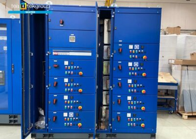 TeaTek_Mascherone Purifier_Panel Motor Control Center 102